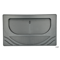 CMP Front Access Wide Mouth Weir Door & Frame - Wave - Graphite Grey