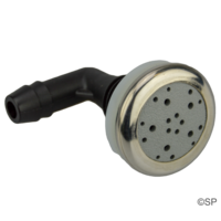 "Edgetec ""O2"" Air Injector - Grey w/stainless steel escutcheon"