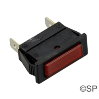 Elecro Square Panel Indicator Neon - Red - Elecro Heater part