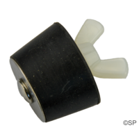 Expanding Tapered Rubber Plug - 40mm Size 8
