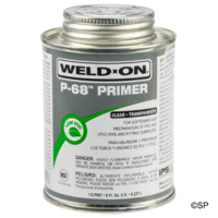 IPS Weld-On P68 Primer - 1 pint/473ml - Clear