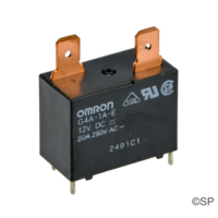 Omron G4A-1A-E PCB Mounted Relay 20A, 250V, 12V DC Coil