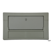 Waterway Front Access 100 SqFt Filter Front Plate & Weir Door Assembly - Grey